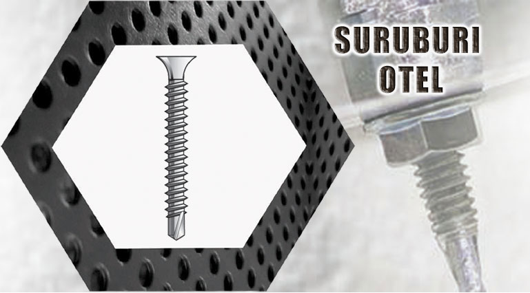 suruburi otel / steel screws
